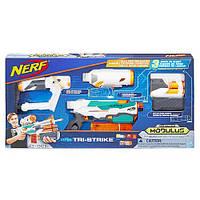 Бластер Hasbro NERF N-Strike Modulus Tri-Strike Blaster Модулус Три-Страйк B5577
