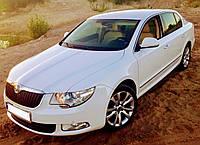 Авто на свадьбу Skoda Superb аренда, прокат, свадебное авто Днеп