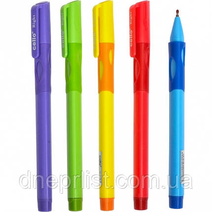 Ручка масляна синя, ЛІВША / CELLO, фото 2