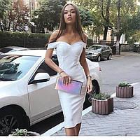 Платье миди в стиле Шанель