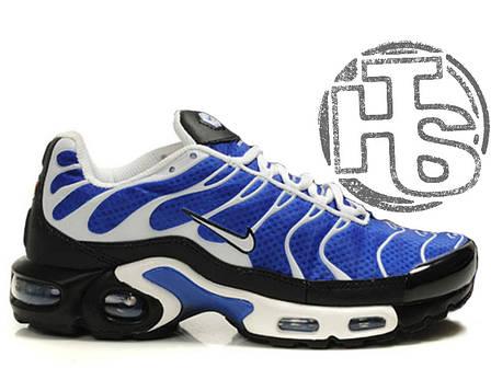 Мужские кроссовки реплика Nike Air Max TN Plus Blue/White, фото 2