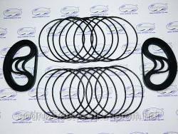 Ремкомплект уплотнительных колец гильзы двигателя ЯМЗ-238, МАЗ, КрАЗ, К-700