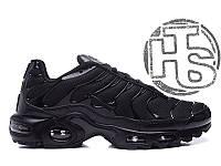 Женские кроссовки Nike Air Max TN+ Triple Black 604133-050