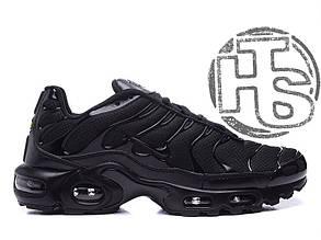 Мужские кроссовки Nike Air Max TN Triple Black 604133-050