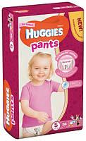 Подгузники-трусики Huggies Pants размер 5 для девочек 12-17кг гигиенические 34шт