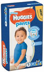 Подгузники-трусики Huggies Pants ( Хаггис трусики ) размер 5 для мальчиков 12-17кг 34 шт