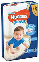 Подгузники-трусики Huggies Pants размер 3 для мальчиков 6-11кг гигиенические 44шт