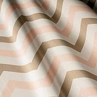 Декоративная ткань с принтом , тефлоновое покрытие