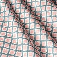 Декоративная ткань с геометрическим принтом, тефлоновое покрытие