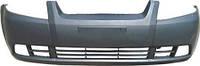 Бампер передний Chevrolet AVEO T200 04-06 (Производство TEMPEST)