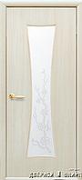Двери Часы дуб жемчужный Р6