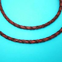 Плетёная кожа (ювелирные шнурки на шею)