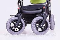 Чехлы на колеса коляски (липучка), фото 1