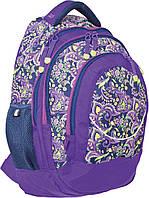 """Рюкзак подростковый Т-14 """"Roxy"""", 46.5*33*15см"""