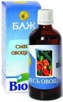 Овощная смесь - Биологически активная жидкость — 100 мл - Даника, Украина