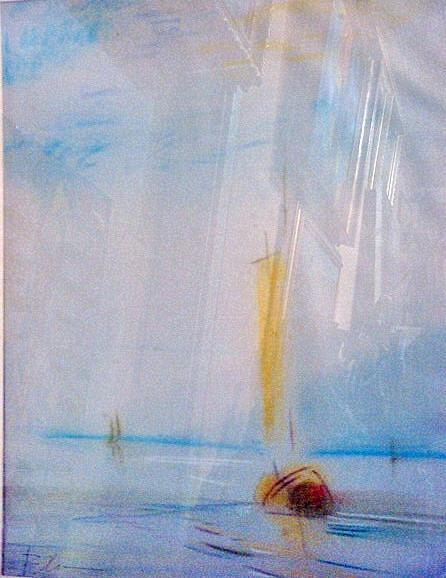Картина Морской пейзаж  Валентин Хрущ  1980-е годы