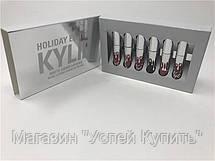 Набор жидких матовых помад Kylie Holiday Edition от Кайли Дженнер 6 штук!Акция, фото 3