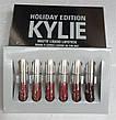 Набор жидких матовых помад Kylie Holiday Edition от Кайли Дженнер 6 штук!Акция, фото 4