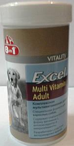 8в1 ЭКСЕЛЬ Мультивитамины для взрослых собак/70т.