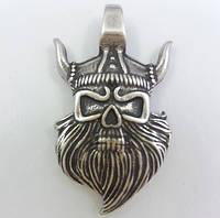 Бог Тор / Амулет Викинг / Серебрение /    Хранитель   могучей силы 3x2 см