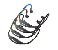 Спортивные беспроводные наушники bluetooth с микрофоном (ZK-S9) (слот для microSD) 15401