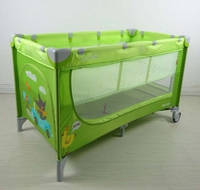 Кроватка-манеж Carrello Piccolo+ CRL-9201, цвет Green