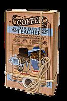 """Кофейный набор с шоколадом """"Для учителя"""" оригинальный подарок учителю"""