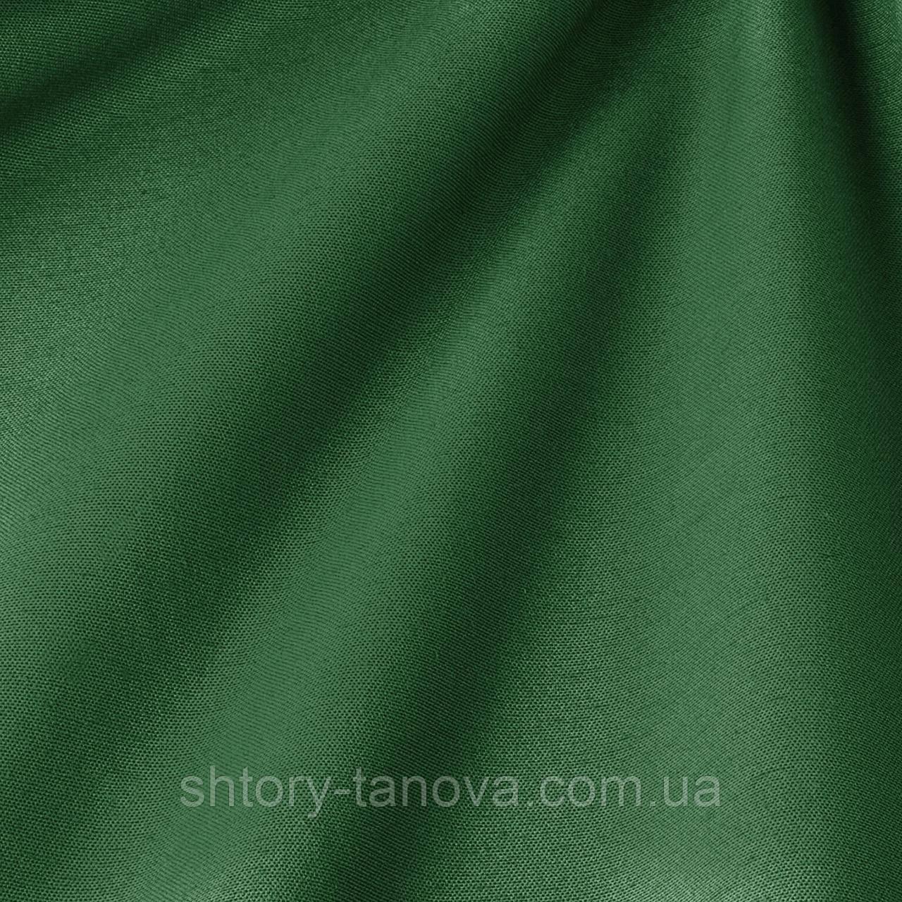 Декоративная ткань однотонная, перламутрово-зелёный