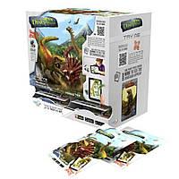 """Игровой набор серии """"Парк динозавров - 3D реальность"""" (фигурка, 2 карточки, 12 видов) TT-DI24"""