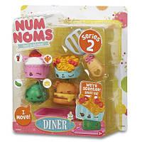 Набор ароматных игрушек NUM NOMS S2 - ФАСТ ФУД (3 нама, 1 ном, с аксессуарами) 544142