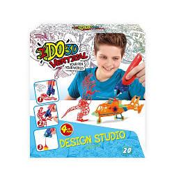 Набор для детского творчества с 3D-маркером - МАЛЬЧИКИ (3D-маркер - 4шт., шаблон, аксесуары) 155256