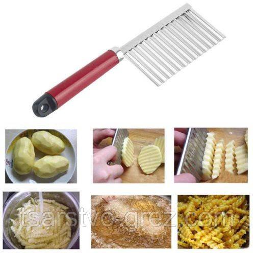Нож для волнистой нарезки