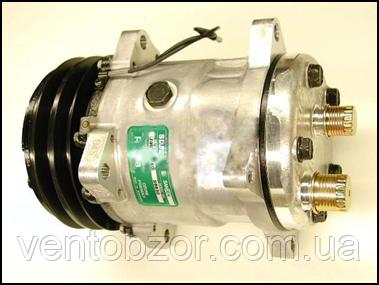 Компрессор универсальный 7H15 (шкив 2А, горизонт., 24 В)