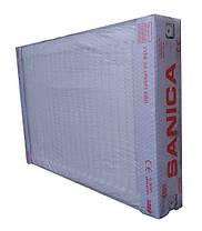Стальные радиаторы отопления Sanica 33тип, 500х600 боковое подключение, фото 3