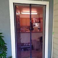 Антимоскитная магнитная шторка в дверной проем в украине, фото 1