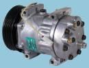 Компрессор универсальный 7H15 VOLVO грузовые (шкив поликлин 8PV 119 мм, 24 В)