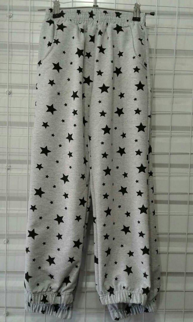 Подростковые штаны с принтом качество супер 116-140 см - Топ маркет в Одессе