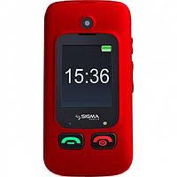 Мобильный телефон Sigma Comfort 50 Shell DUO black-red
