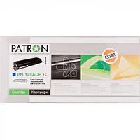 Картридж PATRON Extra HP CLJ Q6001A (PN-124ACR) CYAN
