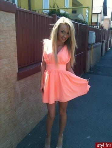Шифоновое платье е153
