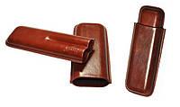Футляр для 2-х сигар Angelo, Арт. 81206, цвет коричневый