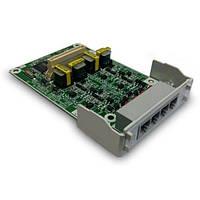Плата расширения Panasonic KX-HT82480X  на 4 порта внешних аналоговых линии с CallerID (LCOT4)