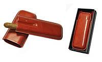 Футляр для 2-х сигар Angelo, Арт. 81205, цвет коричневый