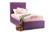Детская кровать односпальная Neon с мягким изголовьем односпальная  для отеля, гостиницы