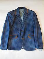 Стильный детский пиджак для мальчика от 9 до 13 лет