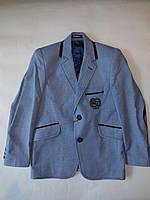 Стильный детский пиджак для мальчика от 5 до 8 лет