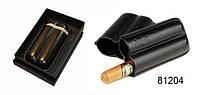 Футляр для 2-x сигар Angelo, Арт. 81204, цвет черный