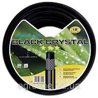 """Шланг усиленный Aquapulse Black Crystal 1/2"""" 3 слоя 30м (Италия)"""