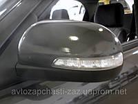 Зеркало заднего вида большое наружное на Ланос с повторителем поворотов p2tf69y0-8201016-70 и p2tf69y0-8201017, фото 1