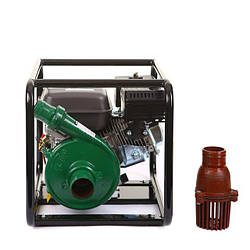 Мотопомпа BULAT BW65/55 (WEIMA MQBL65-55, бензин, высоконапорная, напор 60м, хорошо для капельного)